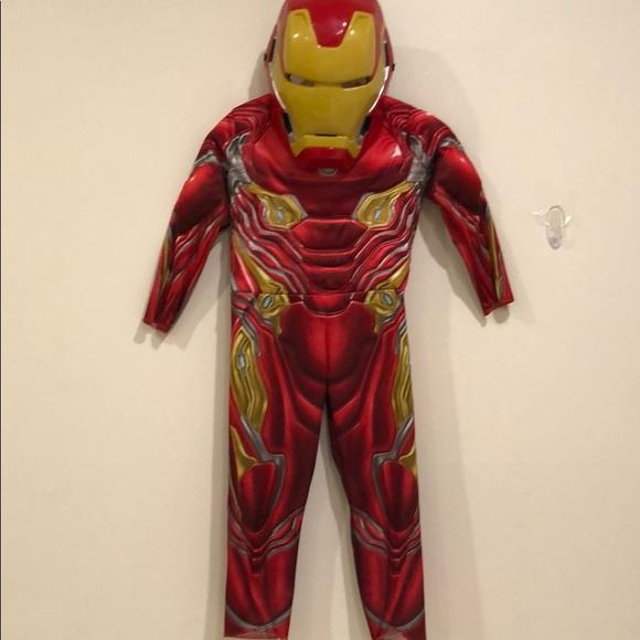 Avengers Iron Man costume boys size extra small